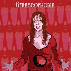 day 30 gerascophobia fear of aging halloween 31daysofhalloween fear phobia - Phobia Halloween