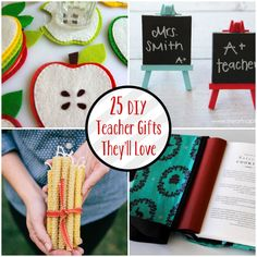 25 DIY Teacher Gifts They'll Love