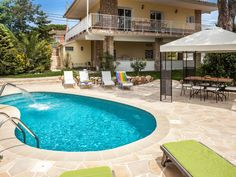 Family friendly holiday home with panoramic sea views, private pool, garden - Tordera Heartland Characters, European Vacation, Swimming Pools, Villa, Beach, Outdoor Decor, Costa, Sevilla Spain, Cottage House