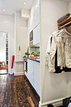 idéias de design de interiores para casa cozinha de apartamento