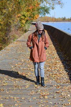 fall fashion - layering - women's fashion - fall jacket - Toronto travel - travel - Canada