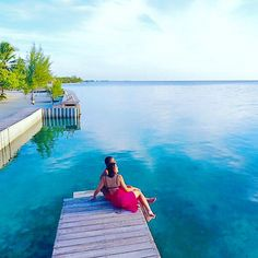 Just the two of you in paradise . Share with your loved one Belize All Inclusive, All Inclusive Honeymoon, Romantic Honeymoon, Paradise, Two By Two, Island, Outdoor Decor, Islands, Heaven