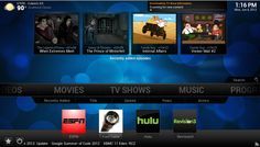 Kodi is a free media player that is designed to look great on your big screen TV but is just as home on a small screen. Linux, Kodi Android, Xbmc Kodi, Watch Tv Online, Internal Affairs, Big Screen Tv, Tv Show Music, Media Center, Open Source