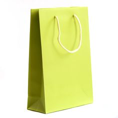 Lime Green Luxury Paper Bag