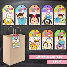 Disney Birthday, Baby First Birthday, First Birthday Parties, First Birthdays, Queen Birthday, Tsum Tsum Birthday Cake, Tsum Tsum Party, Origami, Tsumtsum