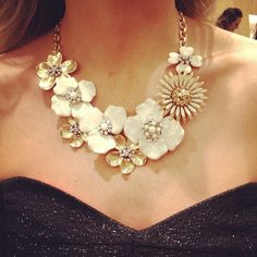 dot bloom necklace  @stelladot (Stella & Dot) $198