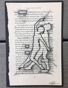 Blackout Poem – 'On her own.' Found Poem / Art / Book Art / Illustration / OOAK - Items similar to Blackout Poem - 'On her own.' Found Poem / Art / Book Art / Illustration / OOAK on Etsy Poetry Art, Poetry Books, Poetry Quotes, Book Quotes, Poetry Lessons, Book Art, Book Page Art, Found Poem, Poesia Visual