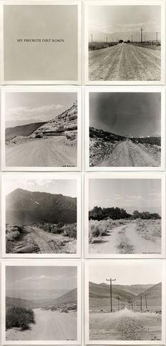 Robert Kinmont: My Favorite Dirt Roads, 1969