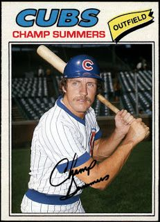 WHEN TOPPS HAD (BASE)BALLS!: MISSING IN ACTION- 1977 CHAMP SUMMERS