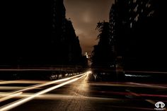 "NYC during ""sandy"" blackout by Randy Scott"