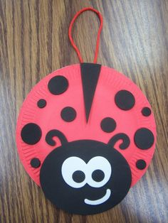 Paper plate crafts - page 2 - storytime katie animal crafts, camping crafts, spring Toddler Crafts, Crafts For Kids, Arts And Crafts, Paper Plate Crafts, Paper Plates, Ladybug Girl, Grouchy Ladybug, Bd Art, Insect Crafts