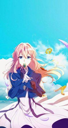 Violet Evergarden Gilbert, Violet Evergarden Wallpaper, Violet Evergreen, Violet Garden, Violet Evergarden Anime, Kyoto Animation, Japon Illustration, A Silent Voice, Kawaii Anime Girl