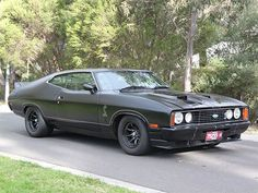 1977 XC Ford Falcon – Today's Aussie Muscle Tempter Australian Muscle Cars, Aussie Muscle Cars, American Muscle Cars, Pontiac Gto, Chevrolet Camaro, Volkswagen, Ford Classic Cars, Mustang Cars, Car Ford