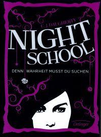 Lesendes Katzenpersonal: [Rezension] C. J. Daugherty - Night School: Denn W...