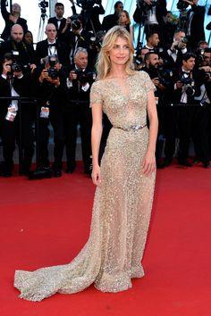 Melanie Laurent.. embellished Zuhair Murad gown.. #Cannes2015