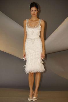 Carolina Herrera. love it as a rehearsal dinner dress!