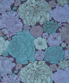 Liberty Art Fabrics Dulwich Park C Tana Lawn Cotton Liberty Art Fabrics, Liberty Of London Fabric, Liberty Print, Bee Fabric, Lawn Fabric, Cotton Fabric, Flora Design, Floral Flowers, Florals
