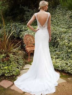 New at Uptown Bridal! Uptown Bridal & Boutique www.uptownbrides.com Beautiful 2016, BT16-26 back view