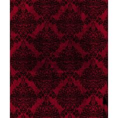 Red/Black Grunge Damask Printed Backdrop | Backdrop Express