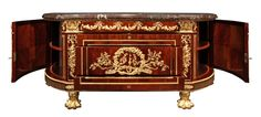 French 19th Century Louis XVI Style Mahogany and Ormolu Commode image 3