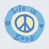 Peace, love, life is good