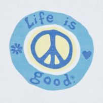Peace, love, life is good