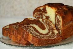Мраморный кекс в духовке