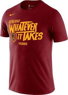 b894cb5d8de0 Nike Youth Cleveland Cavaliers 2018 Playoffs