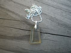 Natural Lemon Citrine Pendant Necklace by tlw1212 on Etsy