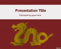 Chinese dragon powerpoint template is a free powerpoint template gold dragon powerpoint template toneelgroepblik Choice Image