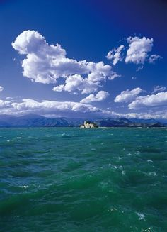 Windy day ~ Bourtzi castle, Nafplio Windy Day, Sandy Beaches, Castle, Clouds, Earth, Landscape, Country, World, Pictures