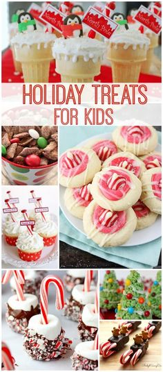 My Favorite Holiday Treats for Kids! Desserts and Snacks for Christmas and Class Parties!