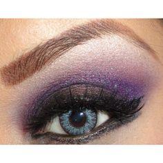 Stunning purple eye! #SephoraColorWash #Purple