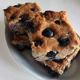 Your Healthy Sweet Treat: Paleo Coconut-Blueberry Cookie Bars Craving a clean-eating-approved treat? Bake up a batch of these Paleo-friendly coconut-blueberry cookie bars that offer nearly 20 percent of your recommended Paleo Dessert, Gluten Free Desserts, Dessert Recipes, Bar Recipes, Free Recipes, Recipies, Blueberry Bars, Blueberry Cookies, Blueberry Breakfast