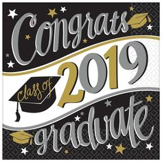 2018 Graduation 7 inch Square Dessert Plate Count), Size: One size, Multi-color Graduation Party Supplies, Graduation Celebration, Kids Party Supplies, Graduation Caps, Tea Party Birthday, 1st Birthday Girls, Beverage Napkins, Party Stores, Dinner Plates
