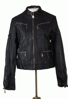 Twirl : Vegan leather biker jacket - ON THE EDGE