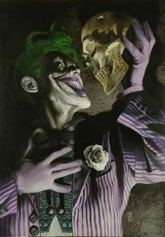 To Laugh.  Or not to laugh.  That is the question.  Art by Simone Bianchi.