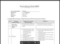 RPPH PAUD Kelompok B Semester 1 dan 2 Kurikulum 2013