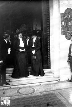 Queen Victoria Eugenie of Spain at Meurice Hotel, Paris.    1908