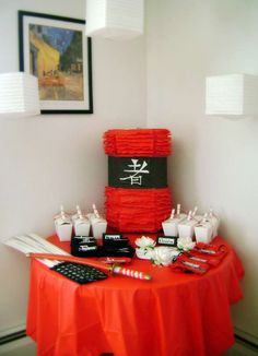 Asian Ninja Karate Chinese Japanese Birthday Party Ideas   Photo 9 of 41   Catch My Party