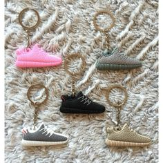 ALMOST GONE!! Yeezy Boost Keychains Limited quantity. Available now. Comment color & quantity so I can create a new listing. Yeezy Boost Keychains. 12 for 1. 20 for 2. 3 for 25. Yeezy Accessories Key & Card Holders