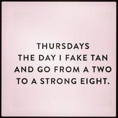 Thursdays are for...