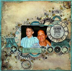 Love This Moment scrapbook layout by Cathy Cafun