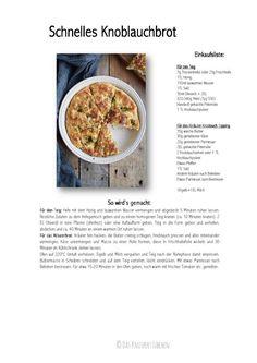 Schnelles Knoblauchbrot Rezept Recipe-001