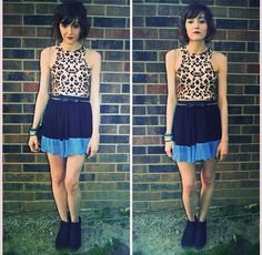 #urbanoutfitters #leopard #crop #top #pleated