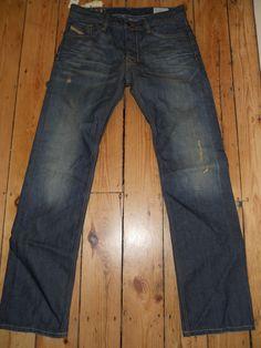 75d0279b Mens Diesel Jeans DNA 31 x 32 Larkee 8Y3 Regular Straight Denim Authentic  New