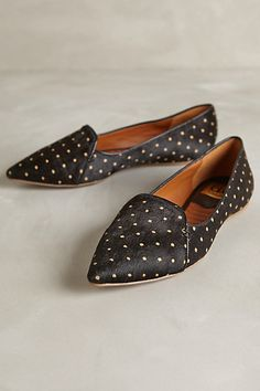 lex calf hair flat in polka dot by dolce vita - so cute with jeans and sweaters for fall #anthrofave