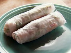 Turkey Spring Rolls from FoodNetwork.com