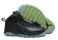 5abf6b8f Buy Air Jordans 10 Retro Black-Grey/Venom Green For Sale New Arrival from  Reliable Air Jordans 10 Retro Black-Grey/Venom Green For Sale New Arrival  ...