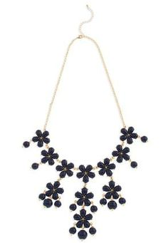 Cato Fashions Flower Bubble Bib Necklace #CatoFashions